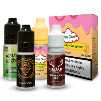 TPD Compliant 10ml and Multipacks
